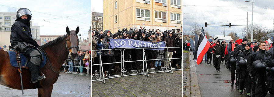 LVZ Demonstrationen