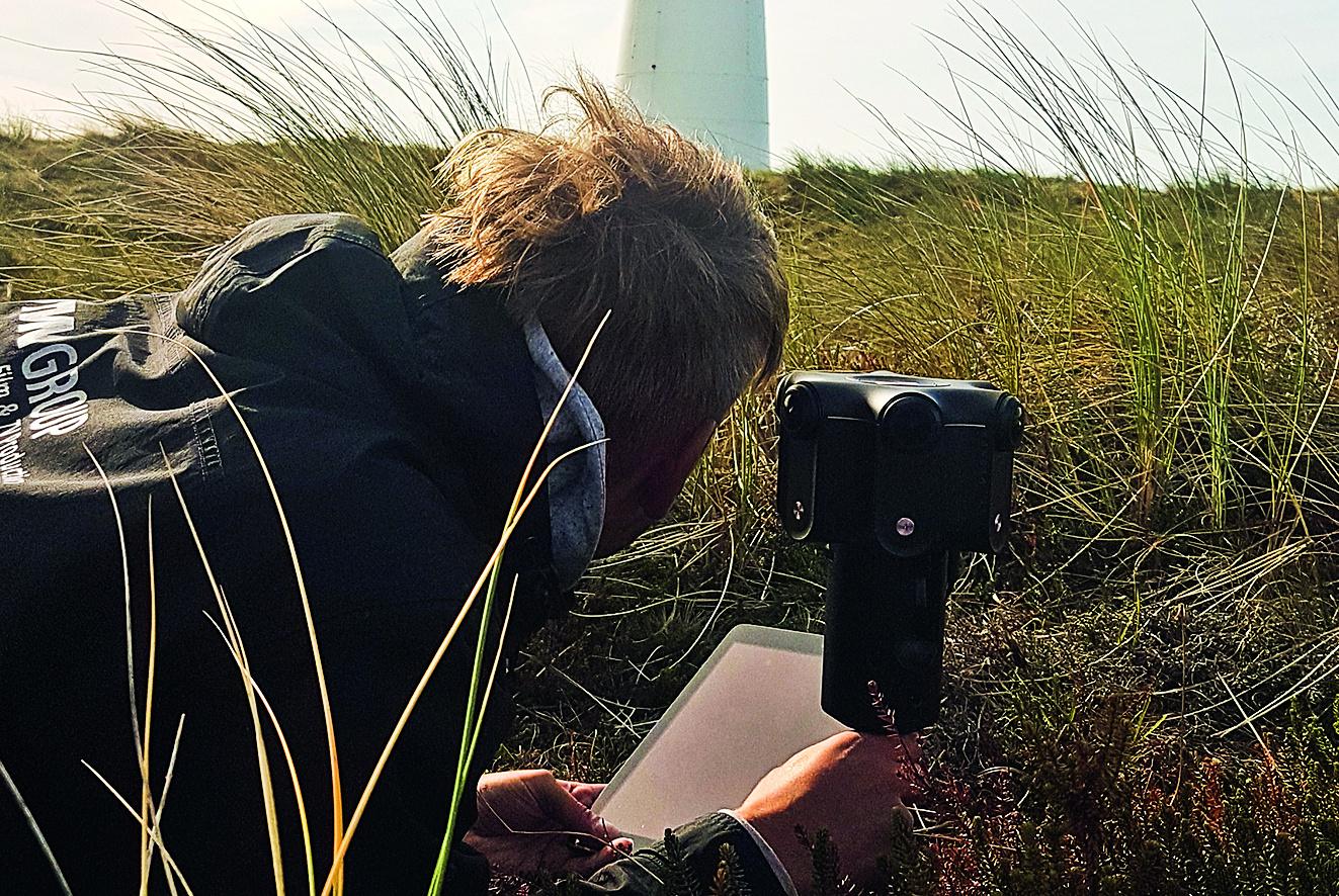 Foto: 360-Grad-Dreh für die Naturgewalten Sylt