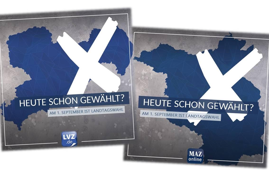 Landtagswahlen in Brandenburg und Sachsen
