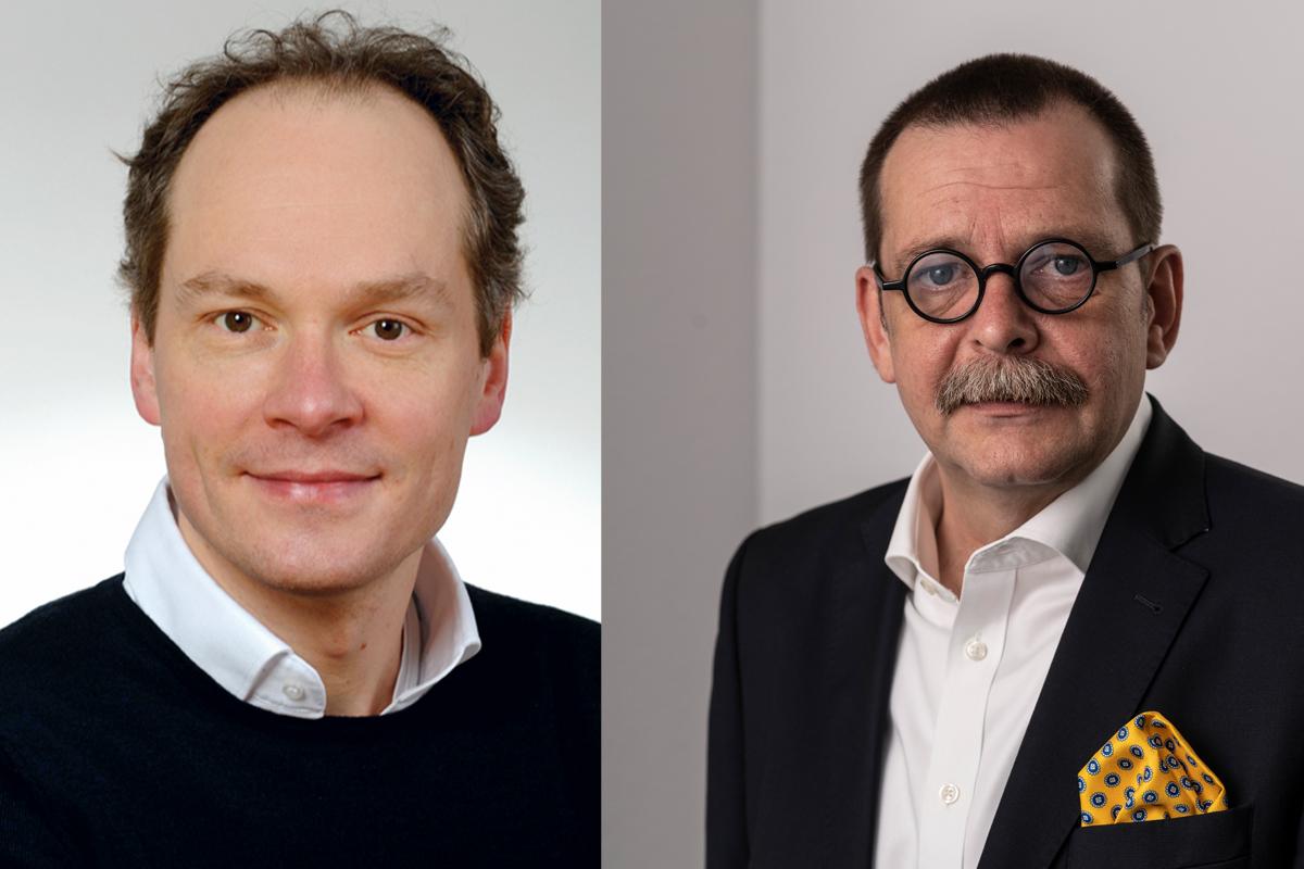 Frerk Schenker und Christoph Oppermann